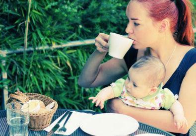 Καφές κατά το Θηλασμό