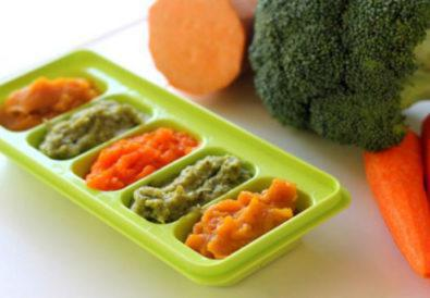 Βρεφική Συνταγή H πρώτη κρέμα λαχανικών του μωρού