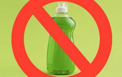 5 Μέρη του σπιτιού σας που απαγορεύεται να χρησιμοποιήσετε απορρυπαντικό πιάτων